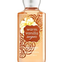 Bath and Body Works Warm Vanilla Sugar Signature Collection Shower Gel, 10 oz, new packaging