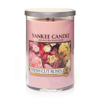 Fresh Cut Roses : Large 2-Wick Tumbler Candles : Yankee Candle