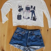 Blogger crop top from rachelyeestyling