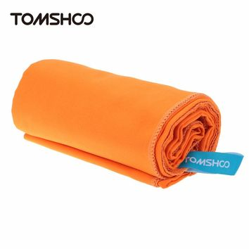 TOMSHOO Outdoor Travel Swimming Camping Towel Microfiber Compact Quick Drying Towel Beach Bath Gym Sports Towel 75*130cm/40*80cm