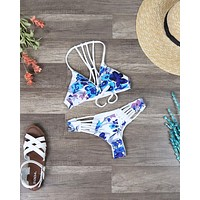 Final Sale - Khongboon Swimwear - Agueda Reversible Handmade Brazilian Cut Bikini Set