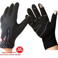 Windstopper Outdoor Sports Gloves ! For Men Women in Winter, Feel Warm When Cycling Hiking Motorcycle Ski, touch screen Gloves