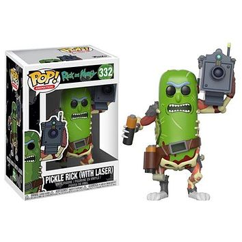 Pickle Rick with Laser Funko Pop! Animation Rick & Morty