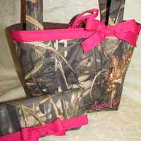 Handmade custom max 4hd advantage camo camouflage purse and wallet your choice of name and color