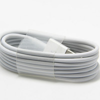 1M USB 2.0 HQ 8 pin Charger Cable For Apple iPhone 5 5g 5S 5C 6 6s 7 plus  iPad Mini iPod Touch 5 Nano 7 ios 7