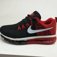 Tagre™ Nike Air Max Men Sport Casual Multicolor Flyknit Air Cushion Running Shoes Fashion Sneakers