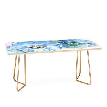 Lisa Argyropoulos Whispered Blue Coffee Table