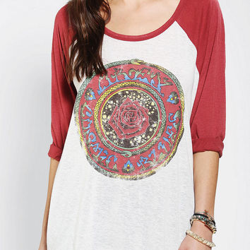 OBEY Cosmic  Blues Raglan Tee