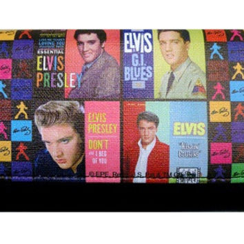 Colorful Licensed Elvis Presley Wallet