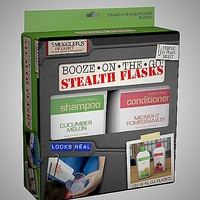 Shampoo and Conditioner Stealth Flask 16 oz -2 Pack - Spencer's