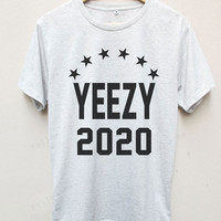 Yeezy 2020 Kanye West Funny T-shirt Tees Unisex T-shirt S,M,L