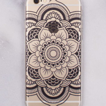 Rose Mandala iPhone Case