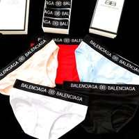 Balenciaga new women's sexy triangle briefs five-piece suit