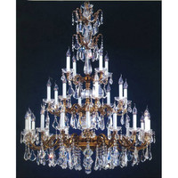 AFD Home Crystal Three Tier Chandelier
