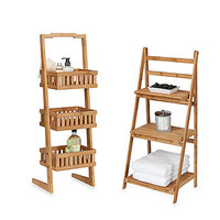 Creative Bath™ Bamboo Shelf Towers
