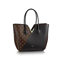 Tagre™ LV Women Shopping Leather Tote Handbag Shoulder Bag Authentic Louis Vuitton Kimono Tot