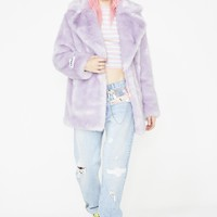 Amethyst Heather Coat