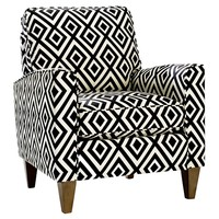 Homeware Cosgrove Club Chair - Licorice | www.hayneedle.com