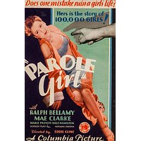 Parole Girl Poster//Parole Girl Movie Poster//Movie Poster//Poster Reprint