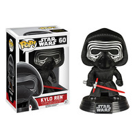 Kylo Ren Pop Star Wars Force Awakens Bobble-Head Vinyl Figure