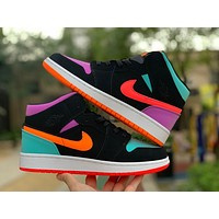 2020 new arriva l AIR JORDAN 1 MID GS Women Fashion Casual Sneakers Running basketball Shoes