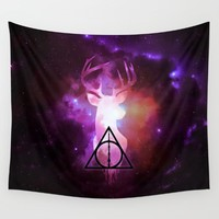 Expecto Patronum Wall Tapestry by EastBlue