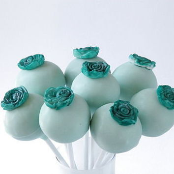 eight flower cake pops by the cake pop company | notonthehighstreet.com