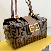 Fendi Wild Atmosphere Medieval Box Bag Shoulder Bag