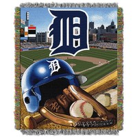 Detroit Tigers Tapestry Throw by Northwest (Tgr Team)