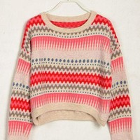 loose short sleeve knit sweater-high quality by ClothLess