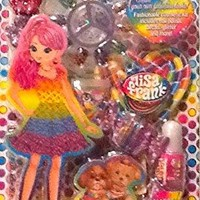 Lisa Frank Beauty Bits Cosmetic Hair and Manicure Set