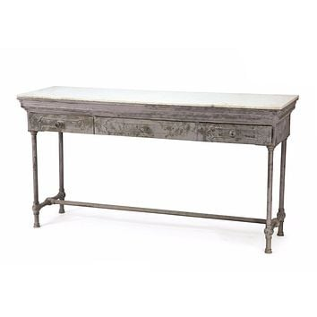 Marble Console Table by Go Home Ltd. 11495