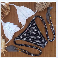 Triangle Bikini Beach Swimsuit Women Swimwear Bathing Suit