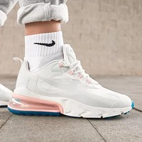 NIKE AIR MAX 270 REACT Fashion New Hook Print Sports Leisure Running Shoes Women