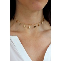 Stardust Choker Necklace - Christine Elizabeth Jewelry