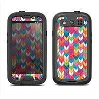 The Color Knitted Samsung Galaxy S3 LifeProof Fre Case Skin Set