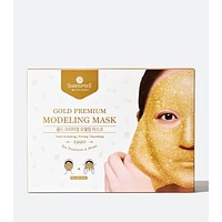 "Gold Premium Modeling ""Rubber"" Mask - Set Of 5"
