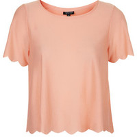 Scallop Frill Tee - New In This Week - New In