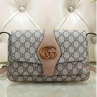 GG Fashion Leather Chain Crossbody Shoulder Bag Satchel