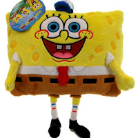 "Pillow Pets 11"" Pee Wees Spongebob Squarepants Plush Stuffed Animal Nickelodeon"
