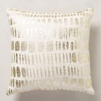 Glowing Moonphase Pillow by Anthropologie in Gold Size: One Size Pillows