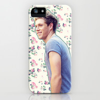 Niall Horan; Floral iPhone & iPod Case by Valerie Hoffmann