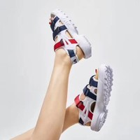 spbest FILA Disruptor Sandal 'Navy/Red/White'