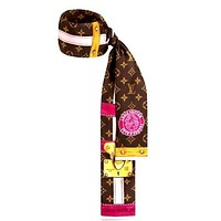 LV new women's wild double-layer headband tie