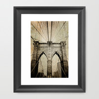 Letters From Brooklyn Framed Art Print by Joann Vitali