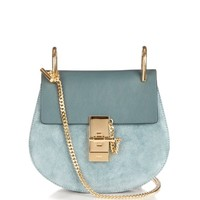 Drew mini leather and suede shoulder bag | Chloé | MATCHESFASHION.COM US