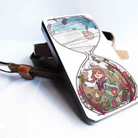 disney frozen hourglass art  for iphone 4/4s/5/5s/5c ,samsung galaxy s3/s4/s5 and ipod 4/5 case