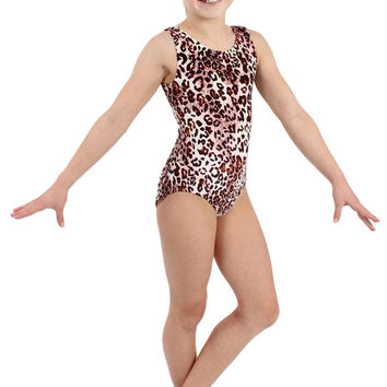 Pink Cheetah Tank Leotard
