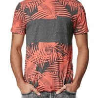 On The Byas Atticus Pocket Crew T-Shirt - Mens Tee - Red