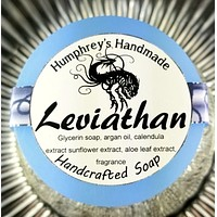 LEVIATHAN Oud & Ocean Soap | Unisex | Glycerin Shave Soap
